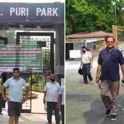 पटना में कोरोना लॉकडाउन के अनलॉक 1 में चिड़ियाघर और पार्कों को खोल दिया गया.