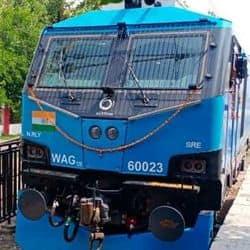 देश का सबसे शक्तिशाली और मेड इन इंडिया 12 हजार हॉर्स पावर लोकोमोटिव (इंजन)