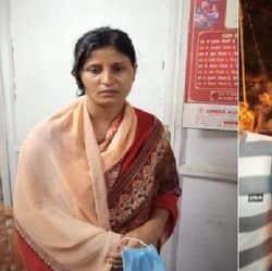फोटो- बाईं तरफ आरोपी महिला और दाईं तरफ उसका प्रेमी और हत्या का आरोपी।