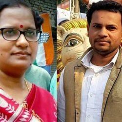 चेयरमैन रेखा शर्मा और कांग्रेस सभासद जावेद कलाम