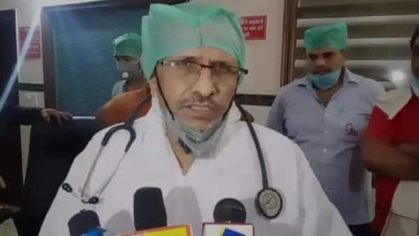 आगरा के पूर्व विधायक के अस्पताल में तोड़फोड़