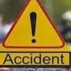 राष्ट्रीय राजमार्ग 30 पर एक बेकाबू कार ने चार लोगों को कुचल डाला जिसमें दो लोगों की मौत हो गई.