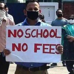 राजस्थान में 31 अगस्त को कोरोना लॉकडाउन में भी फीस मांग रहे प्राइवेट स्कूलों के खिलाफ पैरेंट्स के बंद को व्यापक जनसमर्थन मिल रहा है.