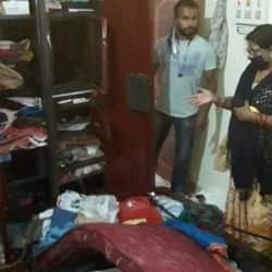 मुजफ्फरपुर में चोरों का आतंक, दारोगा के घर से लाखों की चोरी