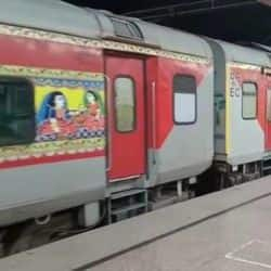 पटना से नई दिल्ली चलने वाली राजधानी ट्रेन की स्पीड बढ़ी.