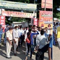 पटना में गेस्ट टीचरों पर लाठीचार्ज, यूजीसी वेतनमान और नौकरी रेगुलर करने की मांग