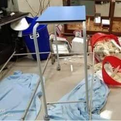 बीएचयू अस्पताल में मरीज की मौत हो जाने के बाद परिजनों ने हंगामा किया.
