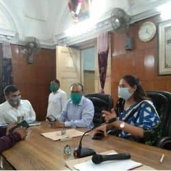 नगर निगम कार्यकारणी चुनाव में BJP के 3 और मेयर समर्थकों के 3 प्रत्याशी चुने गए.