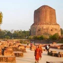 वाराणसी: छह महीने बाद फिर खुला सारनाथ, पहले ही दिन 72 पर्यटक पहुंचे