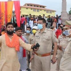 फिल्म की शूटिंग के दौरान हुए विवाद के बाद पहुंची पुलिस