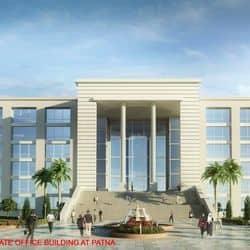 CM नीतीश कुमार ने पटना में 5 मंजिला कलेक्ट्रेट भवन का किया शिलान्यास
