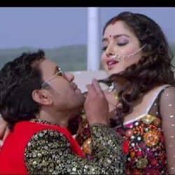 दिनेश लाल यादव और आम्रपाली दुबे का गाना 'सामान चुनमुनिया' यूट्यूब पर खूब धमाल मचा रहा है.