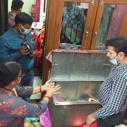 कानपुर में सीओडी अफसर के घर से कैश और ज्वेलरी चुराई.