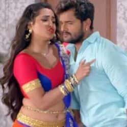 Khesari Lal Yadav, Kajal Raghwani song JABLE JAGAL BANI