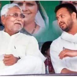 बिहार चुनाव में एनडीए आगे