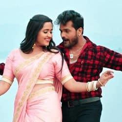 Kajal Raghwani, Khesari Lal Yadav Song Dhaniya Achara