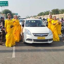 किन्नरों ने किया लोगों को यातायात नियमो व कोरोना के प्रति किया जागरूक