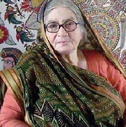 चित्रकार गोदावरी दत्ता और कला समीक्षक अशोक सिन्हा को उज्जैन कलावर्त न्यास करेगी सम्मानित.(फाइल फोटो)