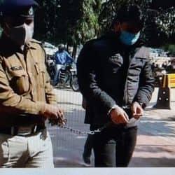पुलिस गिरफ्त में सैक्स रैकेट चलाने का मुख्य आरोपी