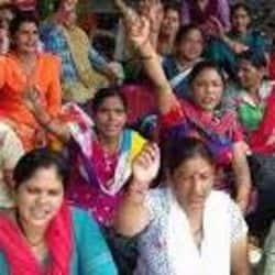 आशा सहयोगिनियों द्वारा अपने आंदोलन को बढ़ाने का ऐलान किया गया है