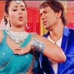 Dinesh Lal Yadav Nirahua Rani Chatterjee Song Chusat Chusate Daant Kaat Lihave