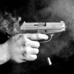 आपसी विवाद के कारण पिता-पुत्र को गोली मारकर हत्या .(फाइल फोटो)