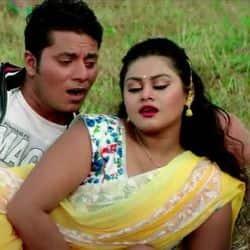 Tanushree Chatterjee Rakesh Gupta Song Chusal Kariha Hothlaliya