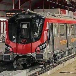 लखनऊ मेट्रो में सैनिटाइजेशन के लिए न्यूयार्क मेट्रो की तर्ज पर अल्ट्रावाइलेट किरणों का इस्तेमाल किया जाएगा.(फाइल फोटो)
