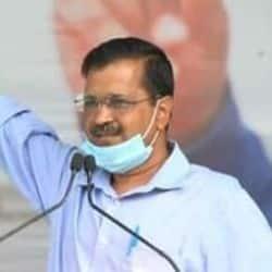 मेरठ की पहली किसान महापंचायत को दिल्ली के मुख्यमंत्री अरविंद केजरीवाल ने संबोधित किया.