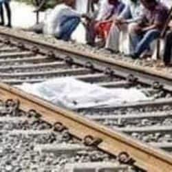 रेलवे ट्रैक से बंधा अर्चित का शव