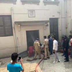 पटना यूनिवर्सिटी के परीक्षा नियंत्रक विभाग में लगा आग, जरुरी दस्तावेज जलकर राख
