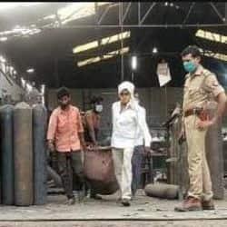 कानपुर: पनकी ऑक्सीजन प्लांट पर बड़ा हादसा सिलेंडर फटने से एक मजदूर की मौत दो घायल