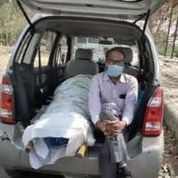 मिशन संवेदना शुरू, कोरोना से मरने वालों को मुफ्त में शमशान ले जाएगा शव वाहन