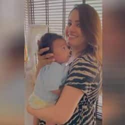 एक्ट्रेस अनीता हसनंदानी ने बेटे आरव का शेयर किया क्यूट वीडियो