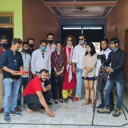 Shooting of Crime Serial Vardaat Ankho Dekhi