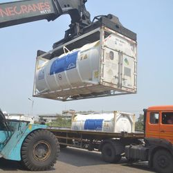 80टन लिक्विड ऑक्सीजन लेकर कानपुर पहुंची ऑक्सीजन एक्सप्रेस. (फाइल फोटो)
