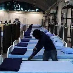 मेरठ में पहला पुलिस कोविड अस्पताल बनकर तैयार. (प्रतीकात्मक फोटो)