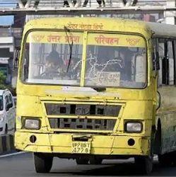 यूपी के ड्राइवर और कंडक्टर की कोरोना से मौत होने पर उनके परिवार के सदस्य को पचास लाख रुपये की मदद दी जायेगी. (प्रतीकात्मक फोटो)