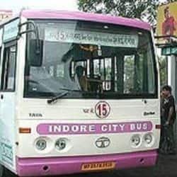 कोविड लॉकडाउन के 72 दिनों बाद इंदौर की सड़कों पर सिटी बसें नजर आईं.