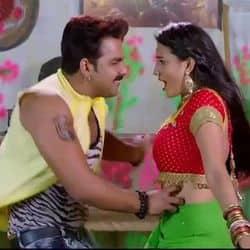 Pawan Singh Akshara Singh Song Paatar Chhitar Video