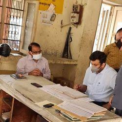 पीवीवीएनल के एमडी अरविंद मल्लप्पा भंडारी जागृति विहार बिजली घर में निरीक्षण किया. (फाइल फोटो)
