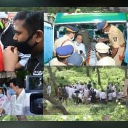 सुपुर्द-ए-खाक हुए दिलीप कुमार, कब्रिस्तान पहुंची सायरा बानो- अंतिम विदाई की PICS