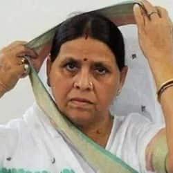 राबड़ी देवी ने महिलाओं के साथ हो रही बदसलूकी को लेकर योगी आदित्यनाथ सरकार पर हमला बोला है