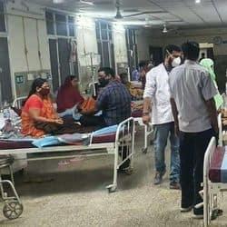केंद्रीय अस्पताल के डेंगू वार्ड
