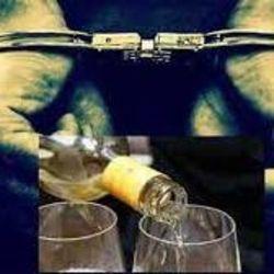 शराब के नशें में निवर्तमान मुखिया में पति को पुलिस ने किया गिरफ्तार.( सांकेतिक फोटो)