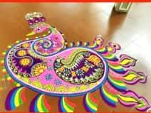 Rangoli 2018: इस दिवाली घर पर बनाएं लेटेस्ट रंगोली डिजाइन