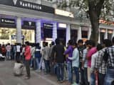 Bank queues in Delhi after demonetisation