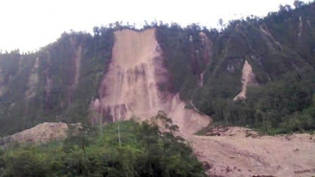 earthquake at Papua New Guinea