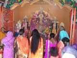 devotional and cultural program on maha astami of chaiti durga puja at bhagalpur