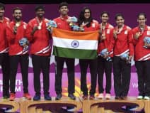 India win gold in badminton